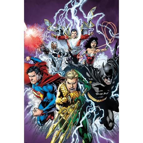 Poster Dc Comics Justice League Strike