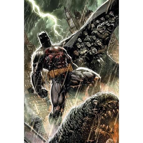 Poster Dc Comics Batman Bloodshed