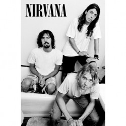 Poster Nirvana Baño