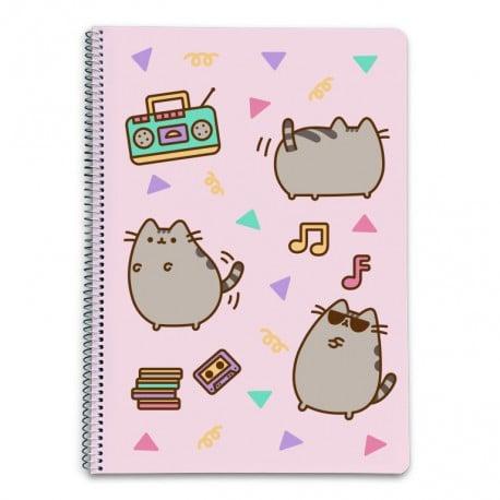 Cuaderno Tapa Dura A4 5X5 Pusheen The Cat 2