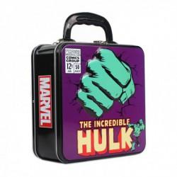 Caja Metalica Relieve Marvel Hulk