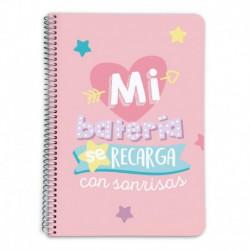 Cuaderno Tapa Dura A5 5X5 Carouge Sweet