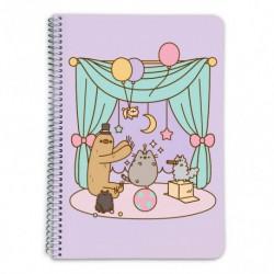 Cuaderno Tapa Dura A5 5X5 Pusheen The Cat 2