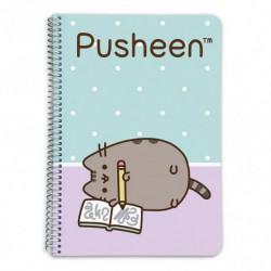 Cuaderno Tapa Dura A5 Pautado Pusheen