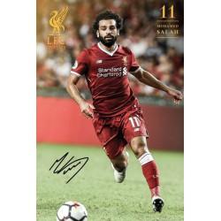 Poster Liverpool Salah 17/18