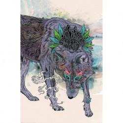 Poster Mat Miller Journeying Spirit Wolf