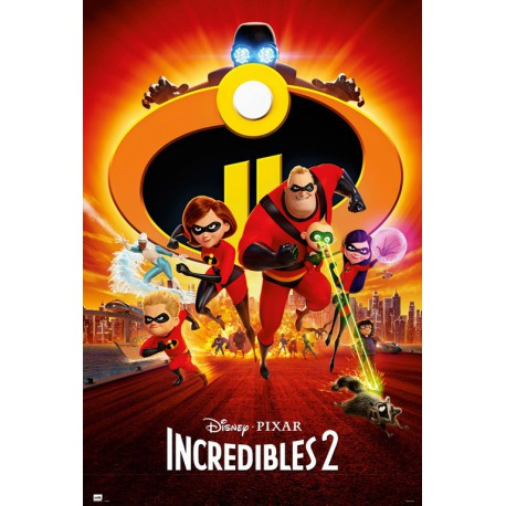 Poster The Incredibles 2 One Sheet