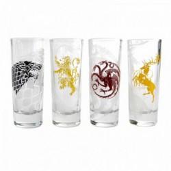 Set 4 Vasos Chupito Game Of Thrones All Houses