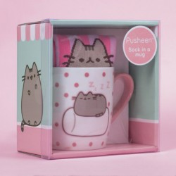 Set Taza Y Calcetines Marshmallow Pusheen
