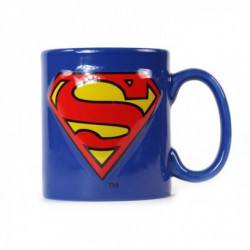 Taza Relieve Dc Comics Superman Logo