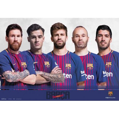 Vade de Escritorio Escolar F.C. Barcelona 2017/2018