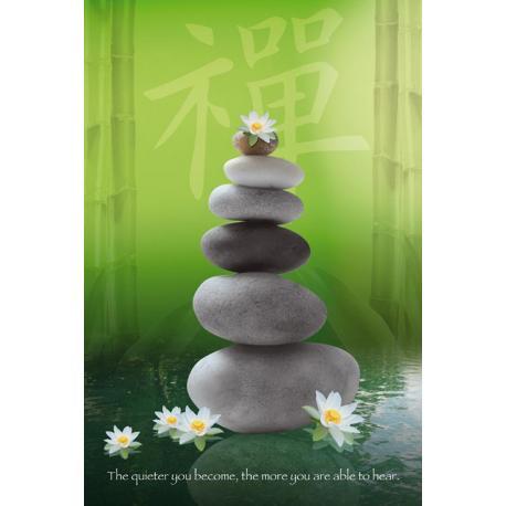 Poster Zen Pebbles