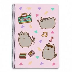 Cuaderno Tapa Dura A4 Pautado Pusheen The Cat 2