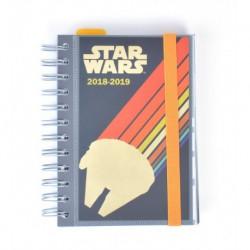 Agenda Escolar 18/19 Dia Pagina Wire-o Internacional Star Wars