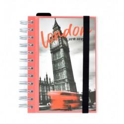 Agenda Escolar 18/19 Dia Pagina Wire-o Español London