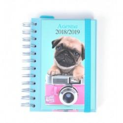 Agenda Escolar 18/19 Dia Pagina Wire-o Español Studio Pets Dog
