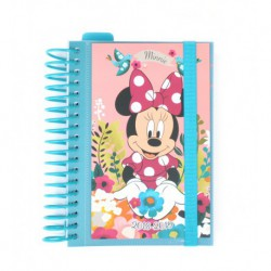 Agenda Escolar 18/19 Dia Pagina Espiral Español Mickey Minnie