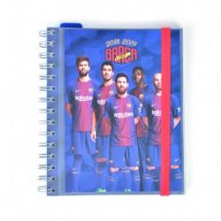 Agenda Escolar 18/19 Semana Vista Wire-o Español F.C. Barcelona