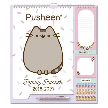Planificador Familiar 2018/2019 Pusheen The Cat