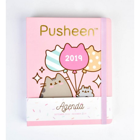Agenda 18/19 Semana Vista Premium Pusheen The Cat