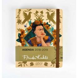 Agenda 18/19 Semana Vista Premium Frida Kahlo