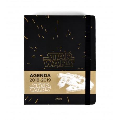 Agenda 18/19 Semana Vista Premium Star Wars