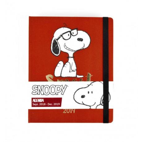 Agenda 18/19 Semana Vista Premium Snoopy