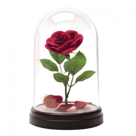 Lampara Disney La Bella y La Bestia Enchanted Rose