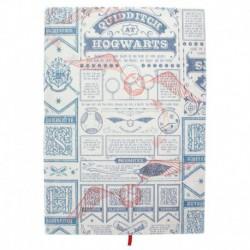 Cuaderno Harry Potter Qudditch