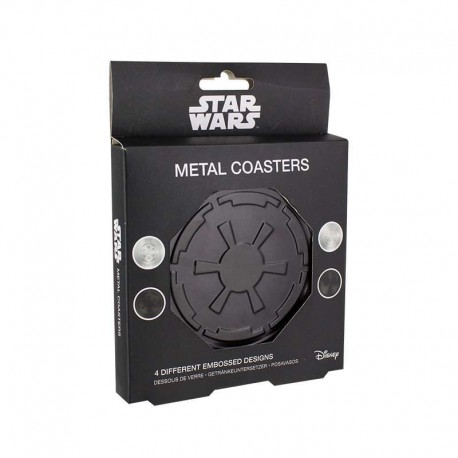 Posavasos Metalicos Star Wars