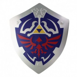 Escudo Metalico The Legend Of Zelda Hylian Shield