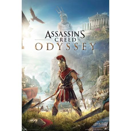 Poster Gamer Assassins Creed Odyssey One Sheet