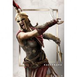 Poster Gamer Assassins Creed Odyssey Kassandra