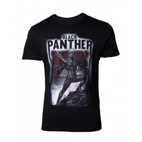 Camiseta Marvel Black Panther Band Tee