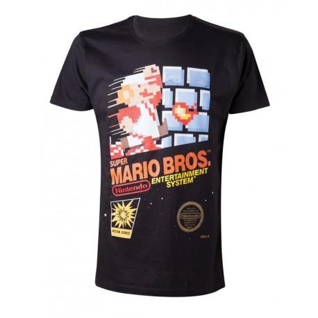 Camiseta Nintendo Super Mario Joystick