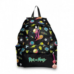 Mochila American Policanvas Rick and Morty 1