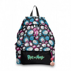 Mochila American Policanvas Rick and Morty 2
