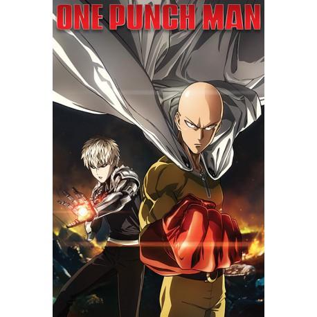 Poster One Punch Man Destruction