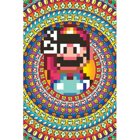 Poster Super Mario Power Ups