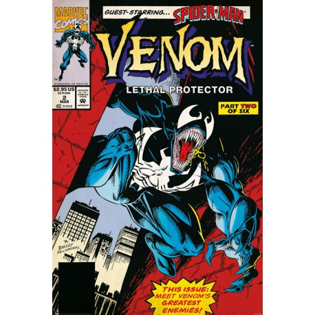Poster Venom Letal Protector Part 2