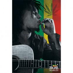 Poster Bob Marley Smoke