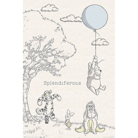 Poster Winnie The Pooh (Splendiferous)