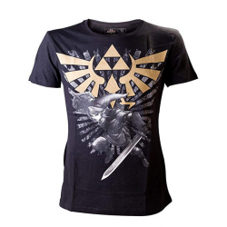 Camiseta The Legend Of Zelda Black Link
