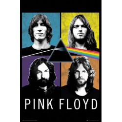 Poster Pink Floyd Group