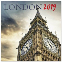 Calendario 2019 30X30 Londres Color