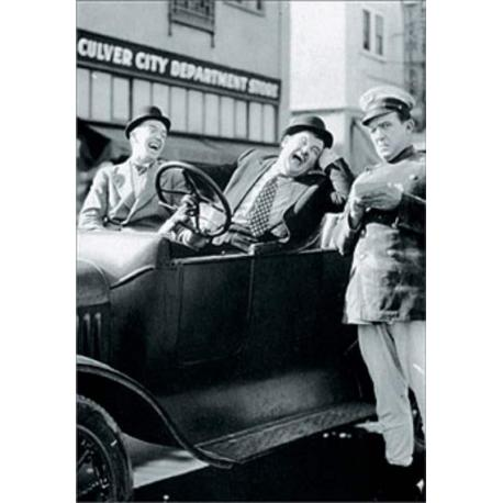 Puzzle 1000 Piezas Laurel-Hardy: Leave Em