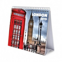 Calendario De Escritorio Deluxe 2019 London