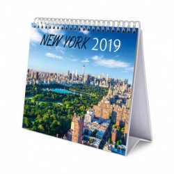 Calendario De Escritorio Deluxe 2019 New York