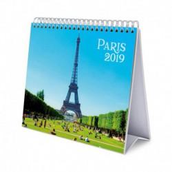 Calendario De Escritorio Deluxe 2019 Paris