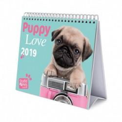 Calendario De Escritorio Deluxe 2019 Studio Pets Dogs